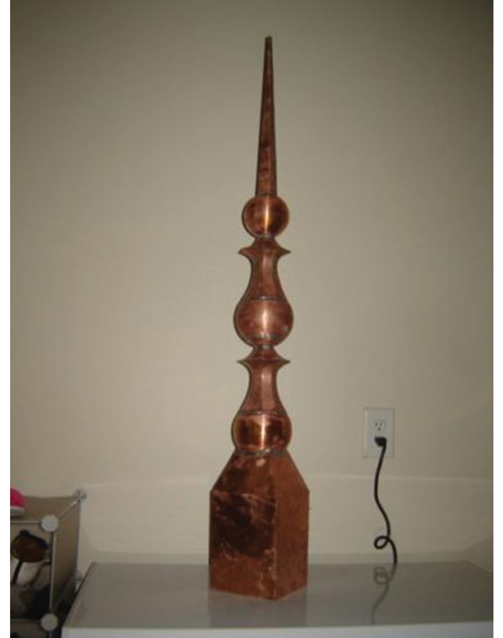 Copper Cupola Finial Decoration Home Of Copper Art