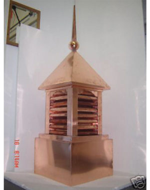 Decorative-Copper-Roofing-Cupola-II