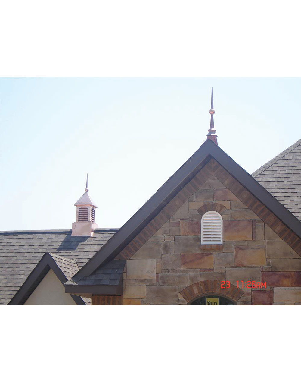 Decorative copper roofing cupola ii home of copper art for Decorative home products