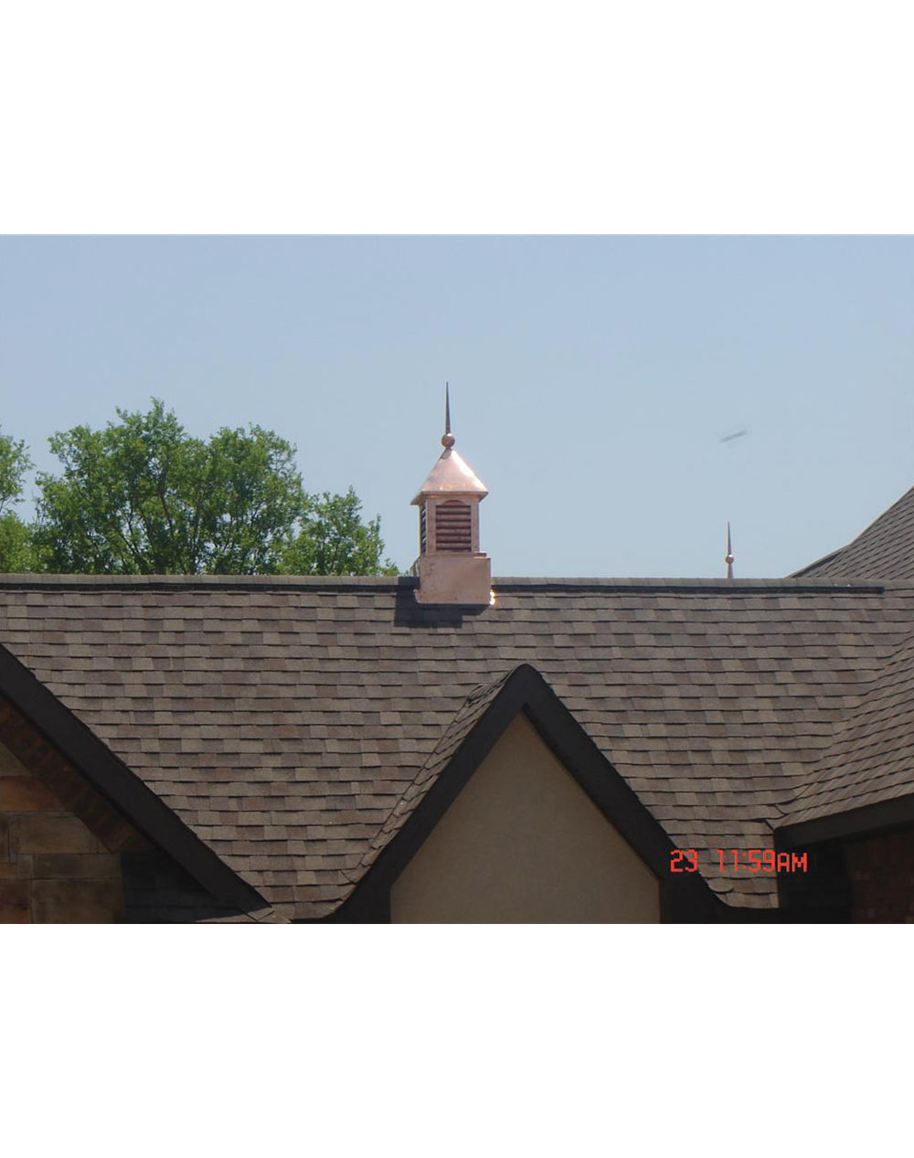 Decorative copper roofing cupola ii home of copper art for House cupola