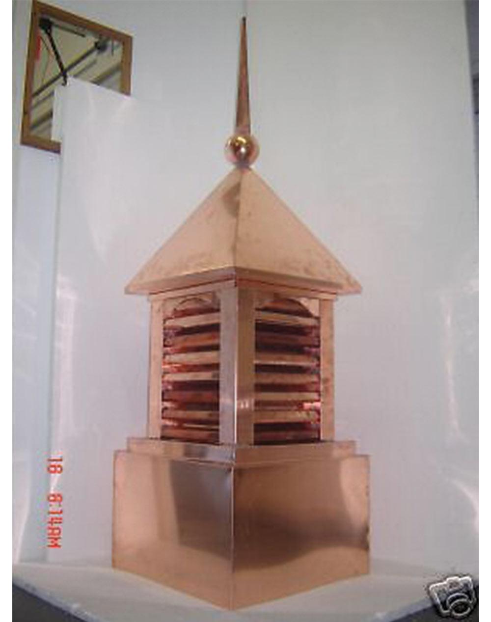 Decorative Copper Roofing Cupola Ii Home Of Copper Art