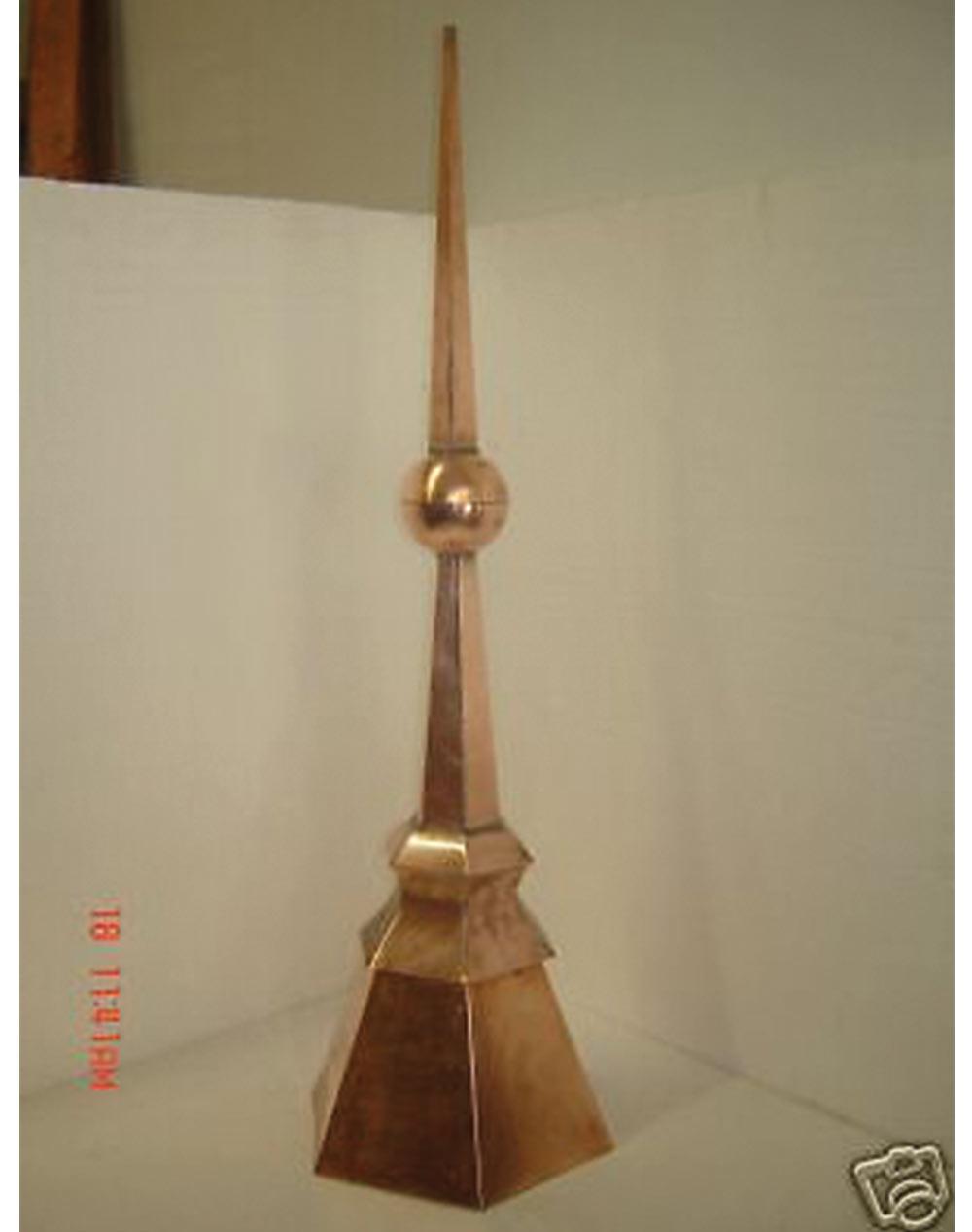 Hexagon Copper Finial Cupola Home Of Copper Art
