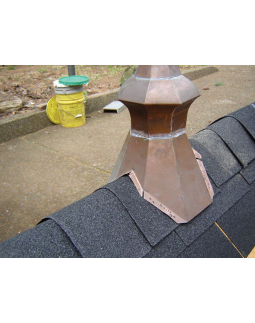 Affordable Roof Spire Copper Patina Home Of Copper Art
