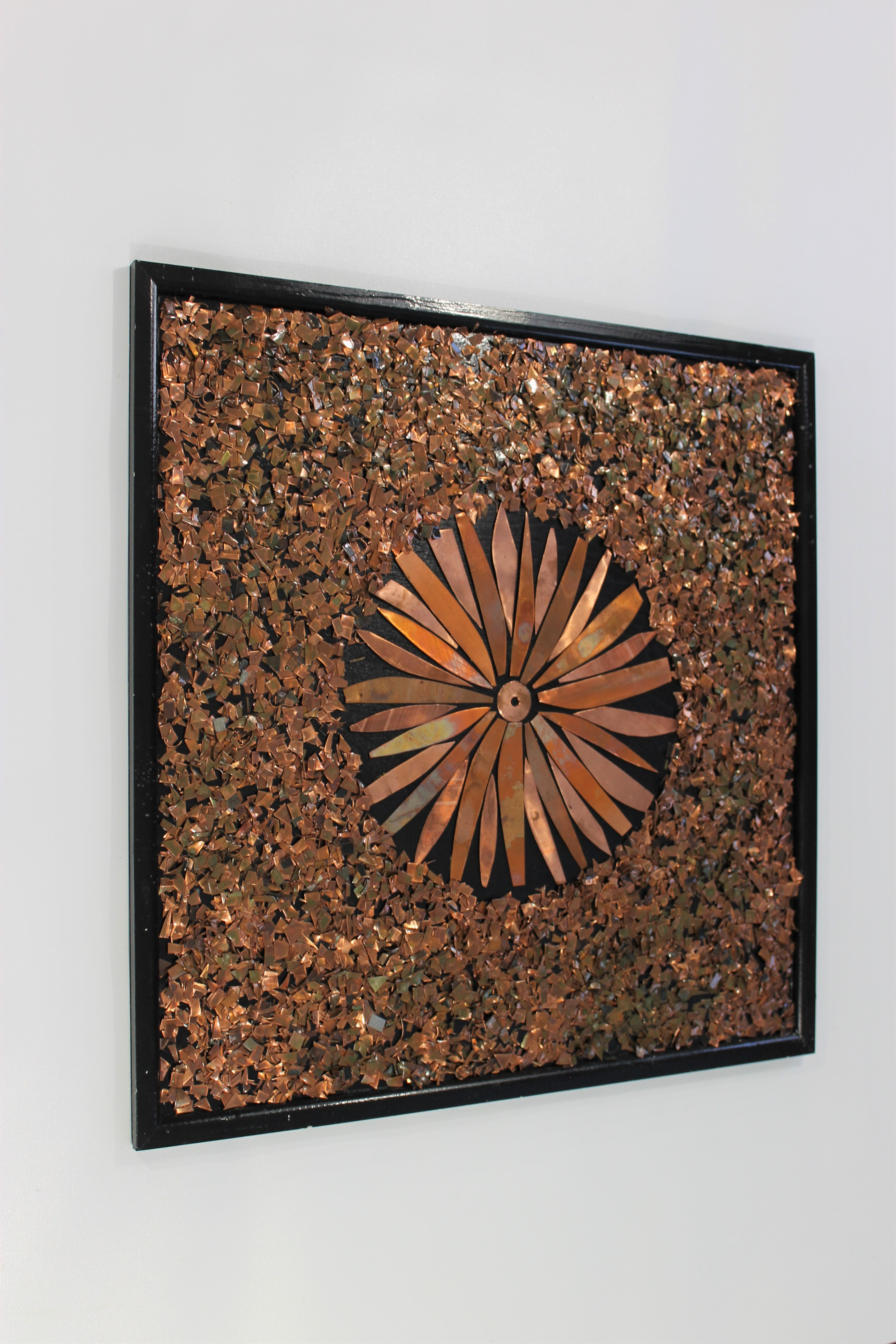Beautiful Copper Abstract Wall Art | Home of Copper Art